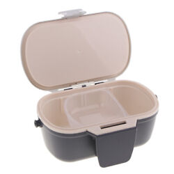 Portable Breathable Fishing Live Bait Container Holder Earthworm Storage Box $19.31