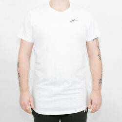 Mens Good For Nothing Autograph White T-Shirt (GFN5) RRP £24.99