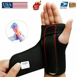 Wrist Brace Support Carpal Tunnel Hand Splint Steel Bone Arthritis Sprain Pain