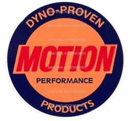 Vintage Baldwin MOTION Performance Vinyl Decal Sticker 4218