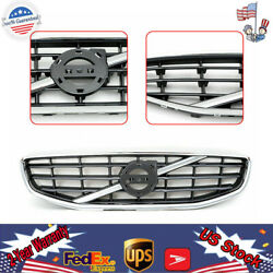 Fit For Volvo S-60 S60 2011 2012 2013 Chrome Front Bumper Upper Radiator Hot