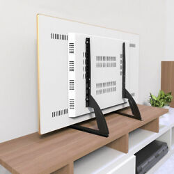 Universal LCD Flat Screen TV Table Top Stand Base Mount Super Stable Feet 27-65