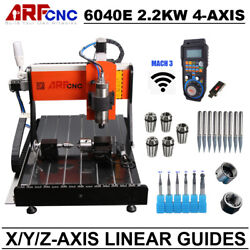 CNC 6040 4axis 2200W Milling Drilling Cutting Machine with Linear Guide