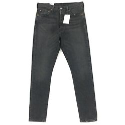 New Levi#x27;s 501 Skinny Jeans for Women Stretch Fit Black Wash Denim 501s S $41.99