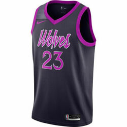Nike Men's Jimmy Butler Minnesota Timberwolves Purple Rain Swingman Jersey LARGE