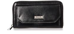 Kenneth Cole Reaction Clutches: Nicole Wallets in Black Silver Gold Rose