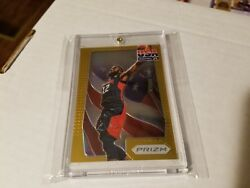 2012 PRIZM JAMES HARDEN GOLD REFRACTOR USA #1010 11 ROCKETS MVP RARE SSP SP