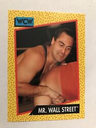 1991 Impel WCW #82 Mr. Wall Street Wrestling $1.00