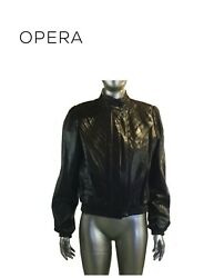 Vintage Opera LEATHER JACKET Made in Canada See Measurements XS S $99.00