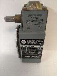 GUARANTEED ALLEN BRADLEY OIL TIGHT LIMIT SWITCH 802T H2N $174.95