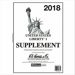 H E Harris Liberty 1 Supplement for Stamp issued in 2018
