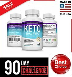 Keto BURN Diet Pills 1200MG Weight Loss Fat Burner Supplement for Women Men
