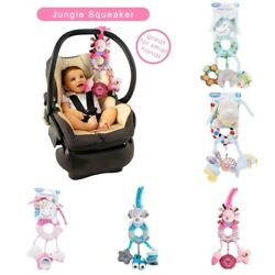 Newborn Baby Infant Rattles Plush Animal Stroller Hanging Bell Toy Doll Bed Hot