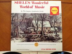 Shell's Wonderful World of Music LP Stereo 2 Record Special Christmas Edition