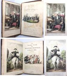 Doctor Syntax 1812 1st Ed First Third Tour Rowlandson Illustrated Plates LONDON