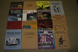 Loompanics Unlimited & Breakout Productions Rare and Out-of-Print Book Lot NEW! $349.95