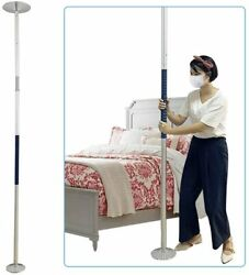 Transfer Pole Security Grab Bar Floor to Ceiling Pole Handicap Bed Assist Bar $179.00