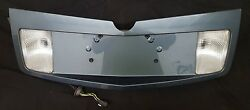 2003-2007 Cadillac CTS Trunk Panel License Trim BEZEL STEALTH GREY GRAY 04 05 06