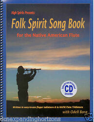 USA Native American Flute Songbook Instructional CD Finger Charts by Odel Borg