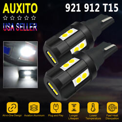 2x Reverse Backup Light 912 921 Canbus LED Bulbs for Ram 1500 2500 wo Projector $10.99