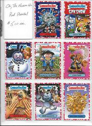 Garbage Pail Kids Oh The Horror-ible Red Border You-Pick from list $5.00 Each $5.00