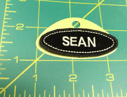 UNUSED Name Tag Patch - hook & loop on the back - SEAN - NEW OLD STOCK !