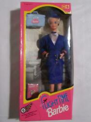 Flight Time Barbie Doll India Leo Mattel 5908 Foreign Vintage 1980s