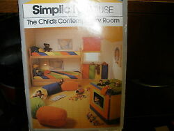 Simplicity House Child#x27;s Contemporary Room pattern 116 $8.99