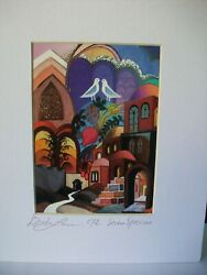 The seven species Signed print by Lavee $20.75