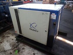 Quincy QSB 30  30 hp. Rotary Screw Air compressor 1yr.  Airend Warranty