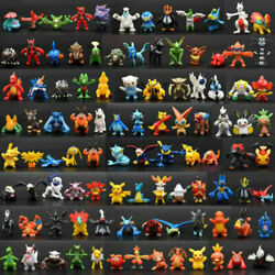 Toy Mini Figures Monster Animation model collection Bday Gift 2 3cm 48 PIECES $13.50