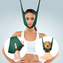 Cervical Neck Traction Device Collar Brace Support Pain Relife Stretcher Therapy $11.59