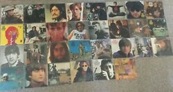 John Lennon Lost Lennon Tapes 30 Volume LP Lot near mint vinyl Bag Records 1st