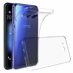 Clear TPU Protective Shockproof Case Cover Guard Shield Saver For HTC U11