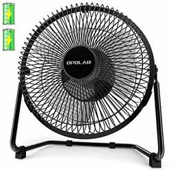 OPOLAR Battery Operated Rechargeable Desk Fan for Home Assorted Colors  $41.35