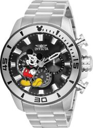 Invicta 27361 Disney Limited Edition Men's Chronograph 48.5mm Black Dial Watch