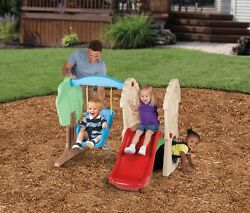 Climber and Swing Set Outdoor Play Backyard Playset Kids Playground Toys Slide
