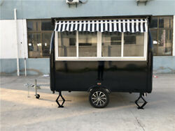 Custom Made Food Trucks Enclosed Concession Stand Trailers Food Carts