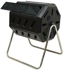 FCMP Outdoor IM4000 Tumbling Composter 37 gallon Black $121.59