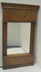 Antique Biedermeier Mirror German Early 19th Century $350.00
