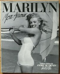 MARILYN (MONROE) Mon Amour - Andre de Dienes french book - photos Hardcover