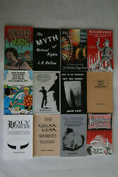 Loompanics Unlimited Rare and Out-of-Print titles. Brand New 12 Books Lot 3