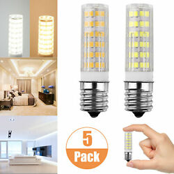 E17 LED Dimmable Intermediate Base Microwave 7W Appliance Light Bulb (5 Pack) $12.47