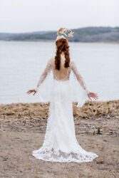 Bohemian Wedding Dress - Boho Style Bridal Gown (-60% Discounted)