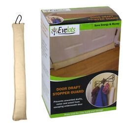 Evelots Door Window Draft Stopper Hanging Cord 36 Inch Block Cold Air Bug Noise $14.99