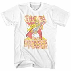 Official T Shirt She Ra Princess  Power Masters of the Universe  Cotton SM - 5XL