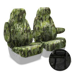 NEW Custom-Fit Multi-Cam Tropic Camo Tactical Seat Covers wMOLLE Back USA-MADE