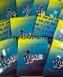 RUNTZ Mylar 3.5 8th Bags *HOLOGRAPHIC PRINT* 420 Packaging *SHIPS IN 24 HOURS*