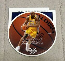 2003-04 Upper Deck Standing O Die CutsEmbossed #34 Shaquille O'Neal