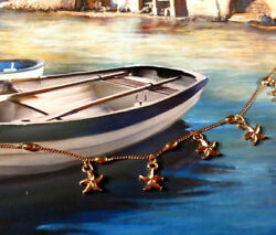 Gold Starfish Ankle Bracelet Charm Beach Anklet Pendant Fashion Jewelry Chain